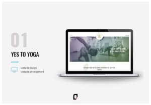 Yes to Yoga - design agency