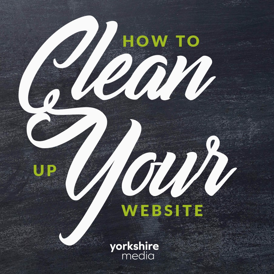Clean up your website for 2021.